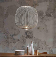 Modern Metal Line Lantern Pendant Lamps Simple White Gold Bar Cafe Restaurant Pendant Light from Singapore best online lighting shop horizon lights
