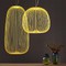 Lantern Bar, Transitional LED Pendant Light for Bohemian and Eclectic (yellow)