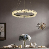 Nordic Style LED Pendant Light Crystal Garland Fantastic Creative Shade Dining Room Bedroom Light Decor from Singapore best online lighting shop horizon lights