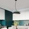 Modern LED Pendant Light Metal PVC Lamp for Dining room Restaurants Decor from Singapore best online lighting shop horizon lights