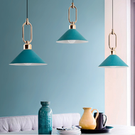 Modern LED Pendant Light Beautiful Color of Macaron Decorative for Living Room Bedroom Decor