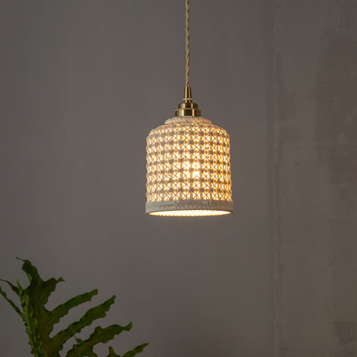 Modern LED Pendant Light Handwork Ceramic Light Dining Room Restaurant Decor from Singapore best online lighting shop horizon lights
