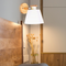 Modern LED Wall Lamp Cute Wood Color of Macaron Living Room Study Decor