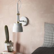 Modern LED Wall Lamp Metal Lamp Black/white Long Pole Bedroom Living Room Decor from Singapore best online lighting shop horizon lights