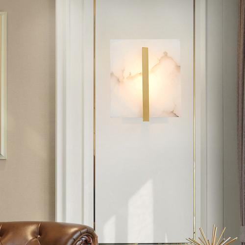 American Marble Copper Modern LED Wall Lamp Luxury Design Living room Corridor from Singapore best online lighting shop horizon lights