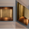 Post-Modern LED Wall Lamp All Copper Luxury Corridor Living Room Decor from Singapore best online lighting shop horizon lights