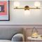 Nordic Style LED Wall Lamp Glass Sphere Shade Lamp Bedroom Corridor Decor from Singapore best online lighting shop horizon lights