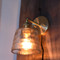 Nordic Style LED Wall Lamp Glass Shade Pure Copper Single-head Lamp Bedroom Cafe from Singapore best online lighting shop horizon lights
