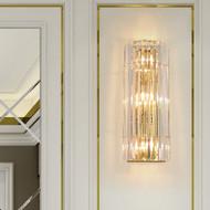 American LED Wall Light Luxury Crystal Shade Light Living Room Bedroom Decor from Singapore best online lighting shop horizon lights