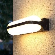 2PCS Modern LED Outdoor Wall Light Garden Lamp Up Down light Waterproof Corridor Villa Decor from Singapore best online lighting shop horizon lights