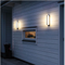 2PCS Modern LED Outdoor Wall Light Garden Lamp Up Down light Waterproof Corridor Villa Decor from Singapore best online lighting shop horizon lights