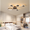 Modern LED Ceiling Light Dimmable Luminous Multi-circles Light Living room Bedroom Restaurants from Singapore best online lighting shop horizon lights