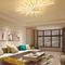 Modern LED Ceiling Light Fan-shaped Aluminum Acrylic Lights Beautiful  Bedroom Living room Decor from Singapore best online lighting shop horizon lights