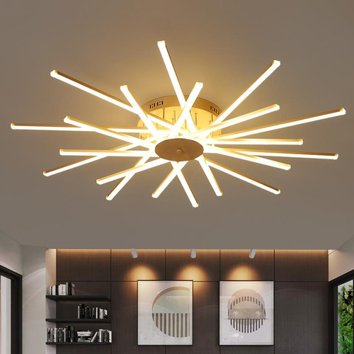 Modern LED Ceiling Light Creative Aluminum Branch Light Living Room Bedroom Decor from Singapore best online lighting shop horizon lights