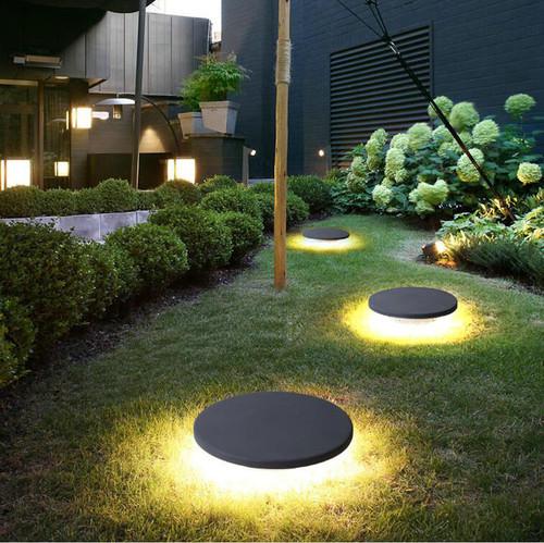 LED Lawn Lamp Waterproof Solar Enery Aluminum Lamp Park Garden Decor from Singapore best online lighting shop horizon lights