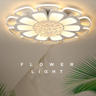 Modern LED Ceiling Light Acrylic Flower Shape Crystal Decoration Light Bedroom Living Room from Singapore best online lighting shop horizon lights