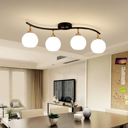 Modern LED Ceiling Convallaria Majalis Shape Living room Bedroom Decor from Singapore best online lighting shop horizon lights