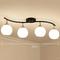 Modern LED Ceiling Convallaria Majalis Shape Living room Bedroom Decor from Singapore best online lighting shop horizon lights