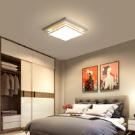 Modern LED Ceiling Light Metal Square/Rectangle Living room Bedroom from Singapore best online lighting shop horizon lights