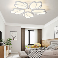 Modern LED Ceiling Light Acrylic Flower Shape Living room Bedroom from Singapore best online lighting shop horizon lights