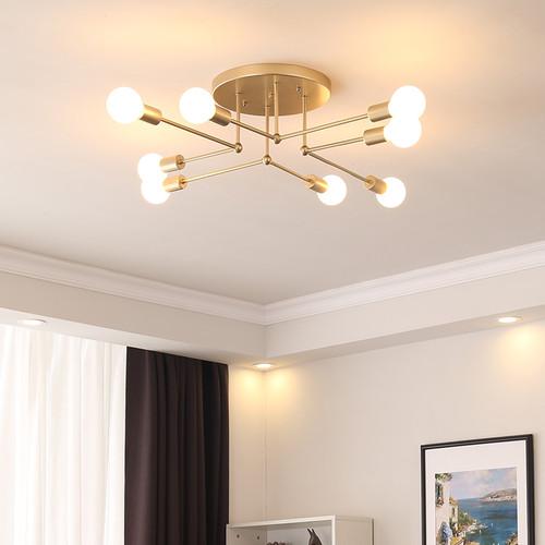 Modern LED Ceiling Light Metal Branch Light Minimalism Home Hotel Decor from Singapore best online lighting shop horizon lights