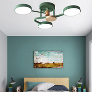 Modern LED Ceiling Light Metal Circle Light Creative Living Room Bedroom Decor from Singapore best online lighting shop horizon lights