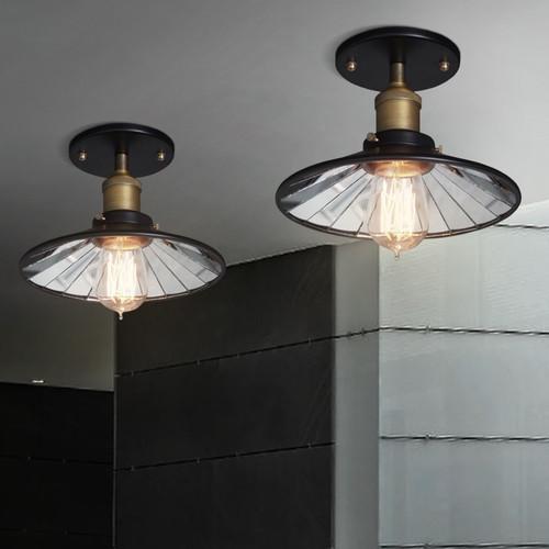 Retro Industrial LED Ceiling Light Metal Edison Bulb Light Bedroom Living Room from Singapore best online lighting shop horizon lights