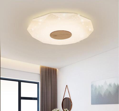 Modern LED Ceiling Light Acrylic Polyhedron Shade Light Living Room Bedroom Decor from Singapore best online lighting shop horizon lights