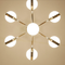 Here is the detail picture. Modern LED Chandelier Light Acrylic Magic Beans Metal Shop Cafe Bar Living room from Singapore best online lighting shop horizon lights