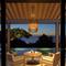 Modern LED Pendant Light Wood Shade Dining Room Restaurant from Singapore best online lighting shop horizon lights