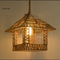 Modern Pendant Light Hemp rope House Shape Edison Bulb Loft Restaurant Dining Room from Singapore best online lighting shop horizon lights