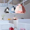 Modern LED Pendant Light Colorful Polygonal Metal Dining Room Cafe bar Decor from Singapore best online lighting shop horizon lights