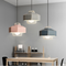 Modern LED Pendant Light Metal Polygon Macarons Color Shade Cafe Dining room from Singapore best online lighting shop horizon lights