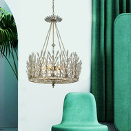 American LED Pendant Light Crystal Crown Metal Light Living Room Bedroom Decor from Singapore best online lighting shop horizon lights