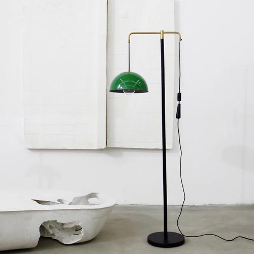 American LED Floor Lamp Retro Metal Marble Sofa Reading Living room Lamp from Singapore best online lighting shop horizon lights