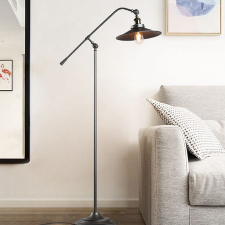 separation shoes 0474f 9c492 Industrial Style LED Floor Lamp Loft Edison Bulb Adjustable Cafe Bar Shops