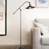 Industrial Style LED Floor Lamp Loft Edison Bulb Adjustable Cafe Bar Shops from Singapore best online lighting shop horizon lights