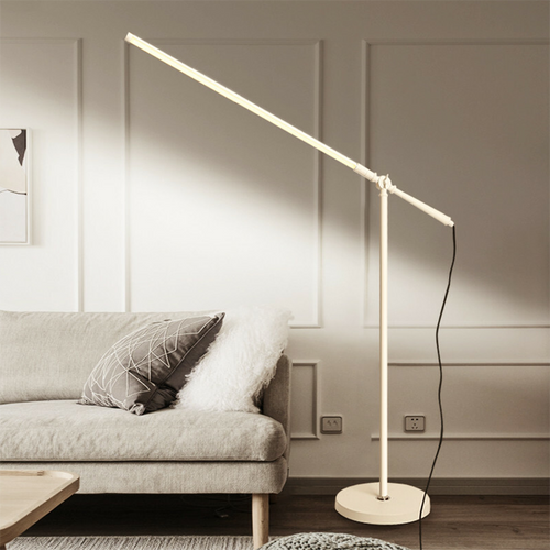 This is the front drawing. Minimalism Crane, Stick floor lamp for minimalist and modern from Singapore best online lighting shop for floor lamp, horizon lights