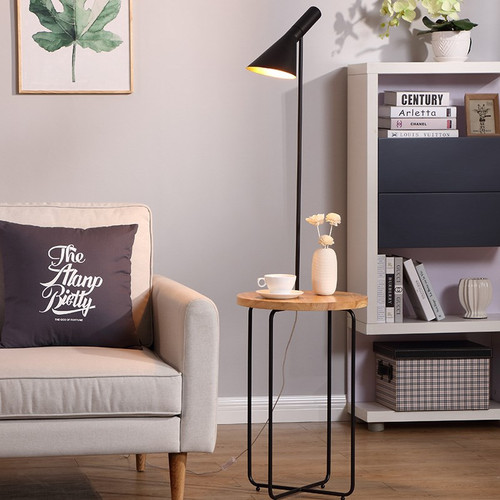Don light, Floor lamp with shelf for Minimalist and Industrial (main)