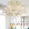 American style LED Chandelier Light K9 Crystal Metal Frame Luxurious Bedroom Living Room Decor from Singapore best online lighting shop horizon lights