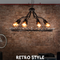 Gothic Lamp, Germanic Crystal Chandelier for Industrial and Retro