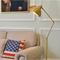 Modern LED Floor Lamp Adjustable Copper Classic Stable Study Living room from Singapore best online lighting shop horizon lights