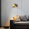 Modern LED Floor Lamp H65 Copper Marble Base Classic Living Study room from Singapore best online lighting shop horizon lights