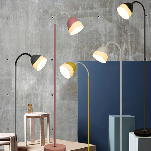 Modern LED Floor Lamp Metal PMMA Mulicolor Bedroom Living Room Decor from Singapore best online lighting shop horizon lights