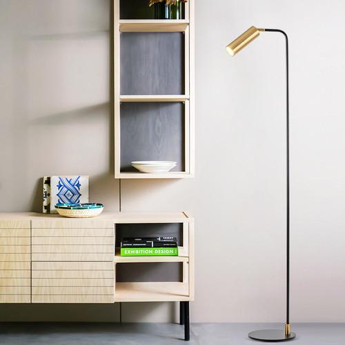 Modern LED Floor Lamp Metal Aluminium Minimalism Study Room Bedroom from Singapore best online lighting shop horizon lights