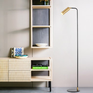 Modern LED Floor Lamp Metal Aluminium Minimalism Study Room Bedroom from Singapore best online lighting shop horizon lights