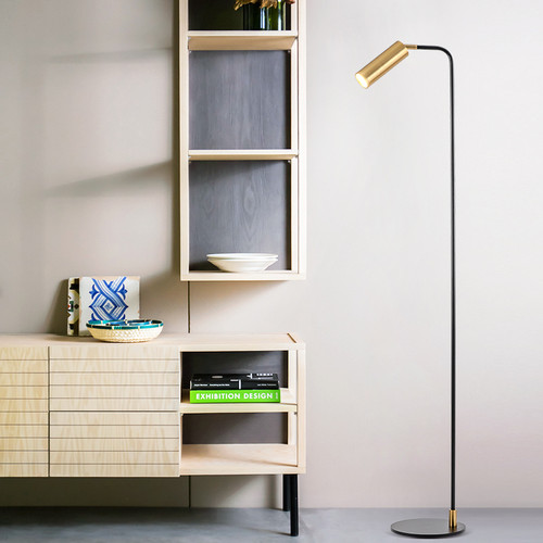 Modern LED Floor Lamp Metal Adjustable Minimalism Study Room Bedroom from Singapore best online lighting shop horizon lights