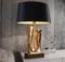 Modern LED Table Lamp Fabric Shade Artistic Metal Living Room Bedroom Light from Singapore best online lighting shop horizon lights