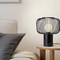 Modern LED Table Lamp Metal Cage Lampshade Bedside Study Room Light from Singapore best online lighting shop horizon lights