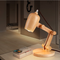 Modern LED Table Lamp Wood Adjustable Height Study room Bedroom Illumination from Singapore best online lighting shop horizon lights